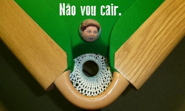 Para quê derrubar Dilma? (Foto: Arte: Antonio Lucena)