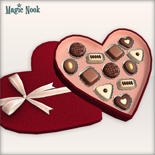 [MAGIC NOOK] Chocolate Box - Box close-up