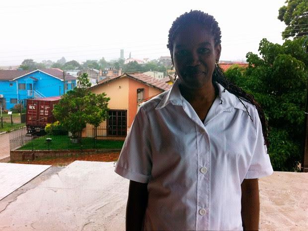 Dra. Lourdes vai viver pelos próximos três anos no município de Cristal (Foto: Caetanno Freitas/G1)