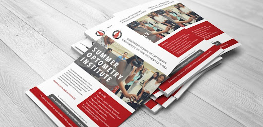 UIW Rosenberg School of Optometry Flyer Prints | BlackStone Studio