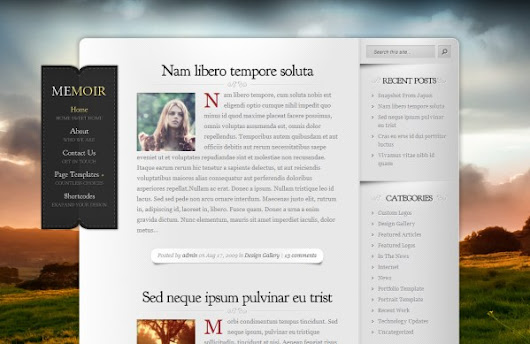 35 WordPress Themes for Personal Websites | Vandelay Design Blog