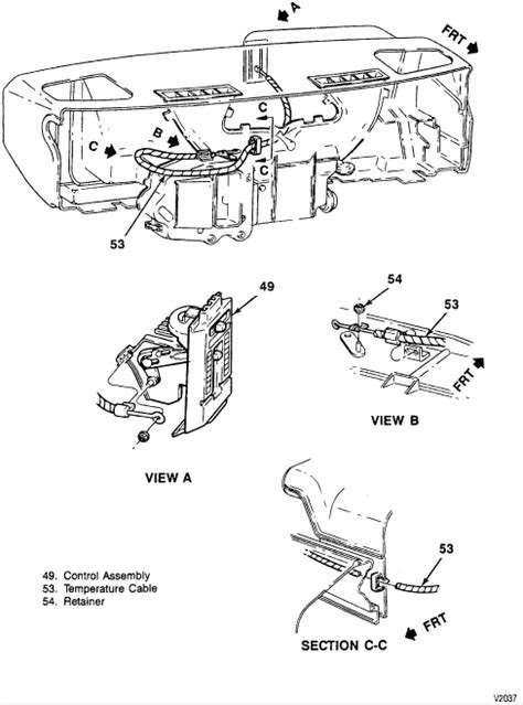 94 Chevy S10 Blazer-detailed description of how to remove