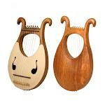 8 String Lyre Harp