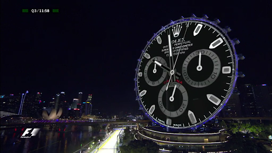 "F1 broadcasters raised ""serious concerns"" about superimposed Rolex clock to FOM"