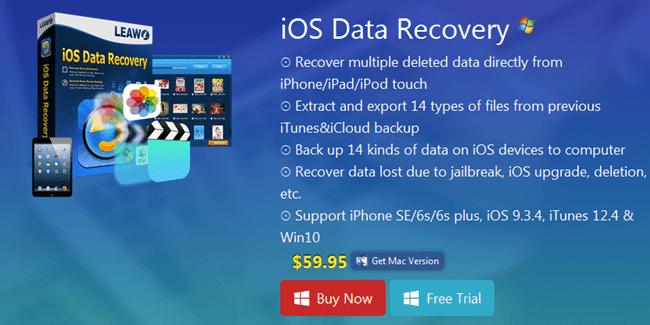 Leawo iOS Data Recovery Software For iPhone, iPAD \u0026 iPOD  Safe Tricks