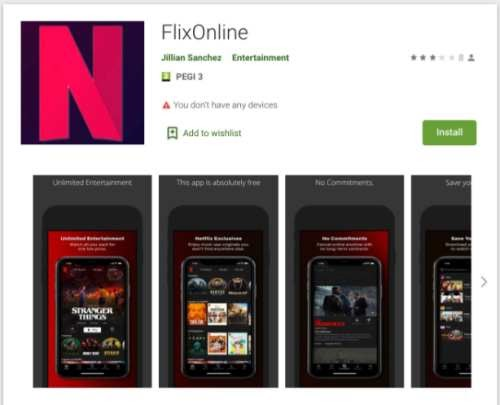 Beware of Android Malware FlixOnline App: Delete the App Right Now from your Device