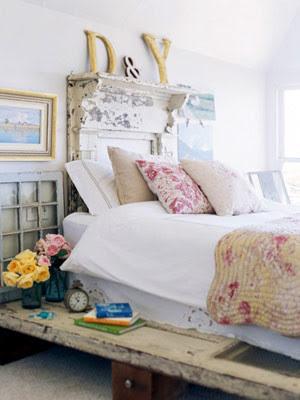 French Flea Market eclectic bedroom