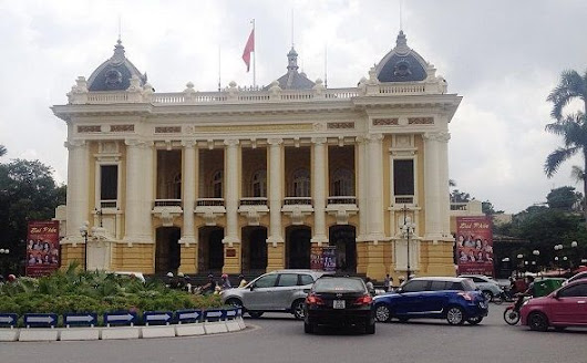 Hanoi Opera House - the biggest theatre in Vietnam (with image) · ducchinhkinh