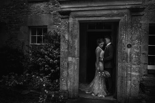 The doorway - Creative Wiltshire wedding photographers, photographing across the UK and destination weddings abroad