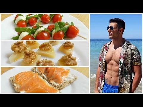 3 aperitivos saludables y nutritivos muy fáciles de hacer