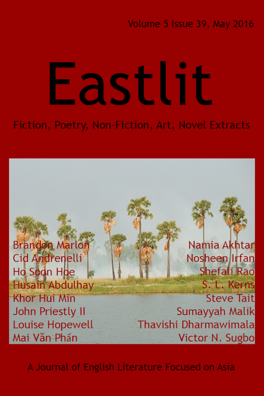 Eastlit May 2016: Asian Literature. Poetry. Fiction, Art.