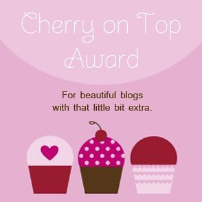 Cherries on top Award