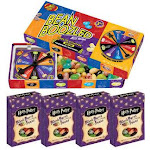 Jelly Belly Beanboozled Jelly Beans Party Pack, 1 Spinner Gift Box and 4 Harry Potter Refill Boxes