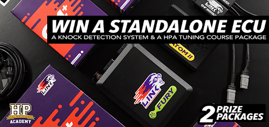 DOUBLE GIVEAWAY: 2 x Standalone ECU, Tuning Course Package and a Knock Detection System