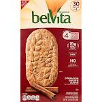 belVita Breakfast Biscuit, Cinnamon Brown Sugar, 1.76 oz, 30-Count