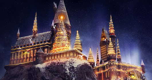 New Holiday Entertainment Including Christmas at The Wizarding World of Harry Potter - Close Up