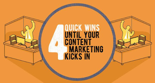 4 Quick Wins Until Your Content Marketing Kicks In