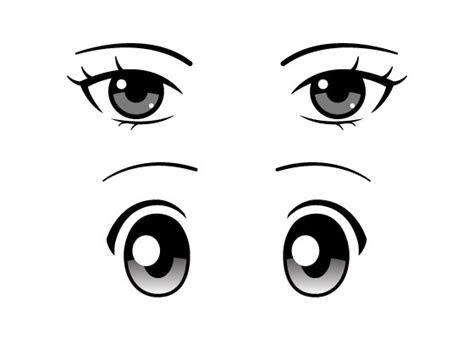 draw  types  anime eyes animeoutline