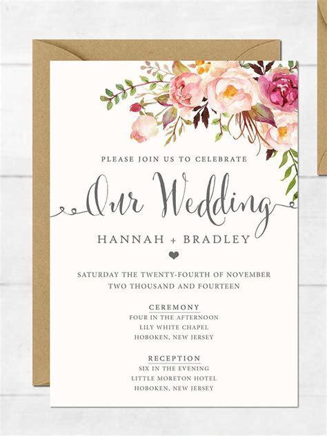 Best 25  Wedding invitations ideas on Pinterest   Wedding