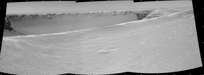 On the Rim of 'Victoria Crater'