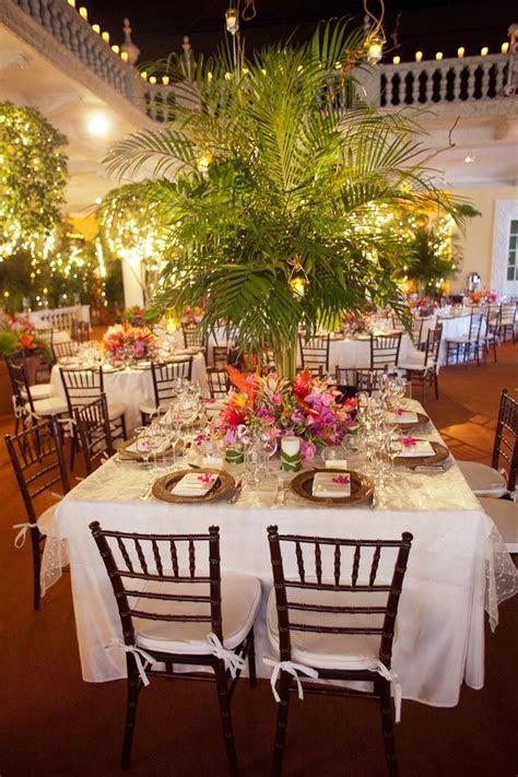 Elegant Tropical Wedding Reception   Receptions, Wedding
