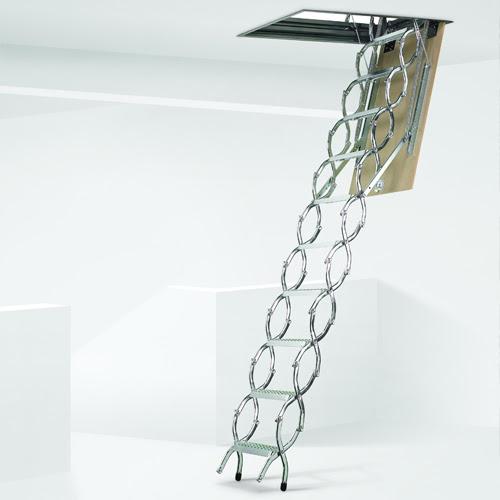 Casas de madera prefabricadas escaleras para buhardillas - Escaleras para altillos plegables ...