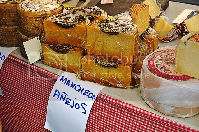 Spanish Food: Aged Manchego Cheese [enlarge]