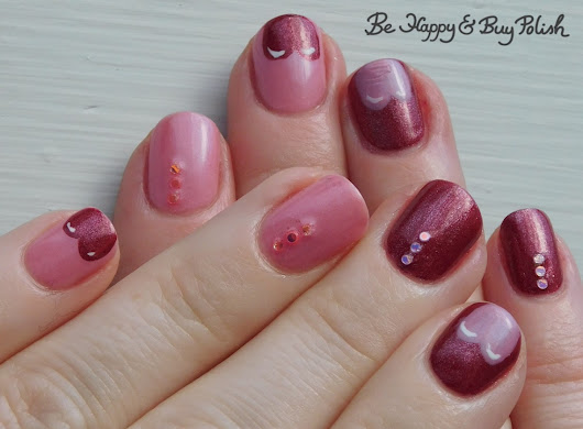 Heart Tipped Manicure with Sally Hansen and Inspired Sense
