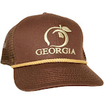 Peach State Pride Classic Trucker Hat | Chocolate