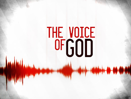 "THE VOICE OF GOD: ""You are my beloved son, you are my beloved daughter. We go into the world, not perfect, but loved!"" The Reverend John Smith"