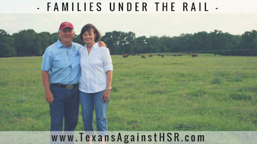FAMILIES UNDER THE RAIL – DuBois Legacy | Texans Against High-Speed Rail
