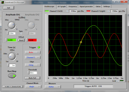 Soundcard Oscilloscope by Christian Zeitnitz - Hobby Garage - DIY Electronics