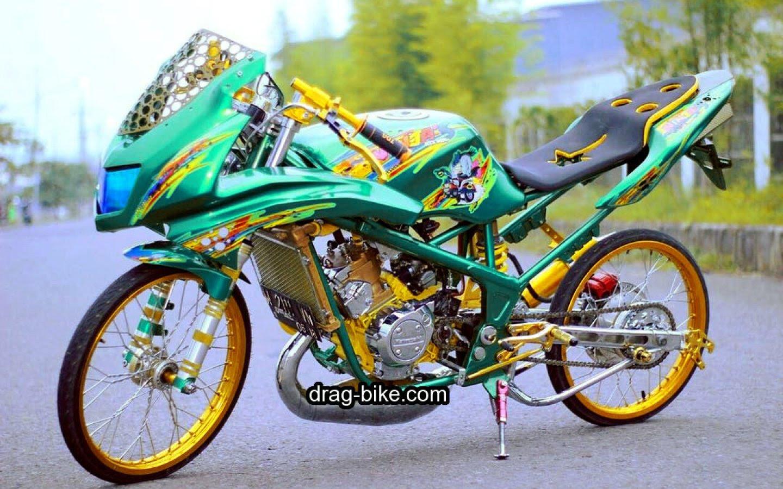 100 Gambar Motor Drag Ninja Rr Terkeren Kewak Motor