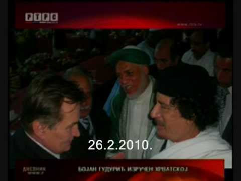 Gadafi i Haris Silajdzic pozvali na dzihad protiv Svajcarske 26.2.2010.