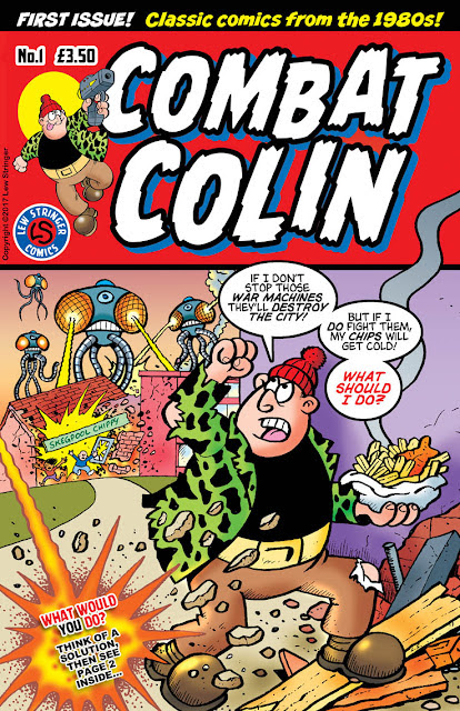 COMBAT COLIN No.1 is here!