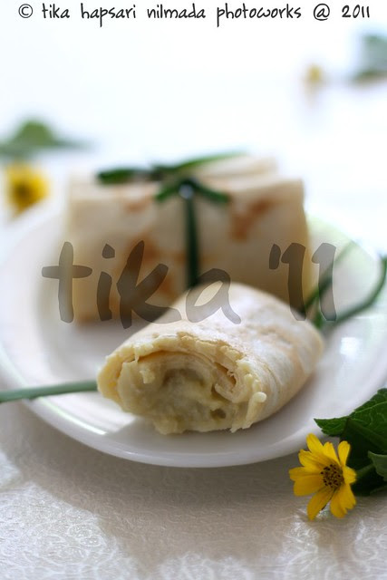 (Homemade) Durian Pancake