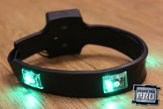 Wireless Laser Tag Head Sensors ReDesigned