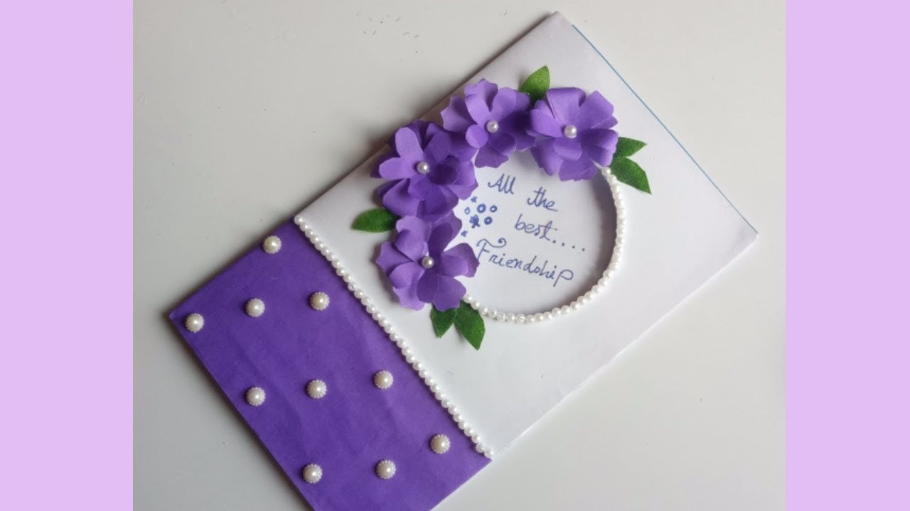 How To Make Cards For Friends Misli Poklave