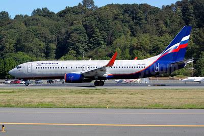 Aeroflot Russian Airlines Boeing 737-8LJ WL VP-BRF (msn 41195) BFI (Joe G. Walker). Image: 913627.
