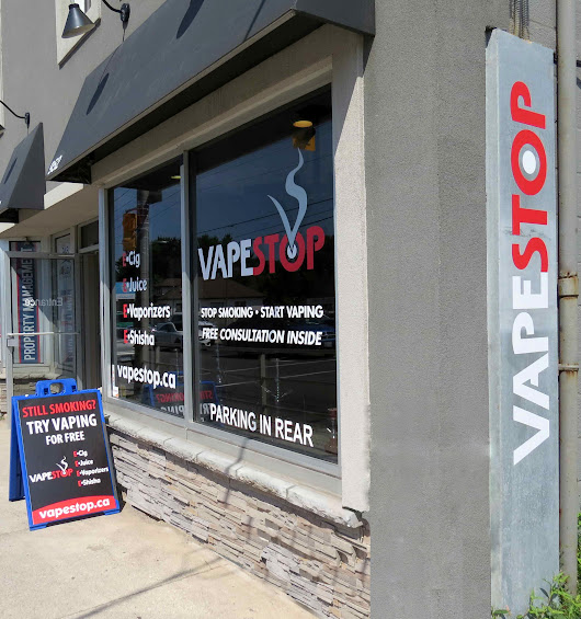 Vapestop | London, ON | E-Cigarettes, E-Liquids, Vaporizers, and more