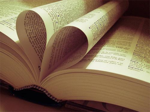 Corazón en un diccionario.