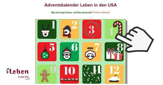 USA Adventskalender 2018 - Thema USA und Heimat