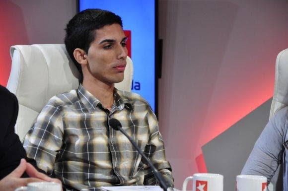 Alejandro Sánchez, ex alumno de la primera convocatoria de las becas World Learning. Foto: Roberto Garaycoa/ Cubadebate.