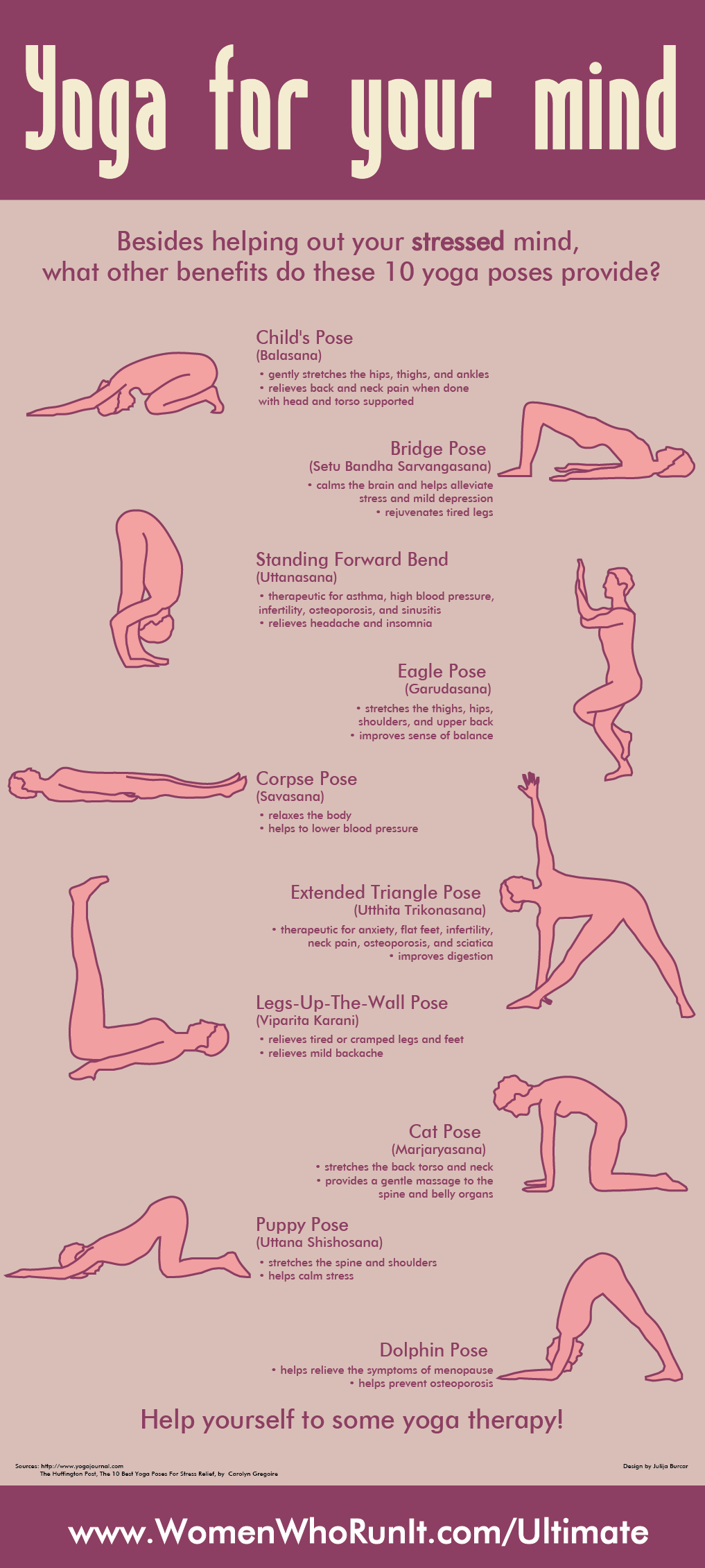 10 stress-busting yoga poses to improve your mood ...