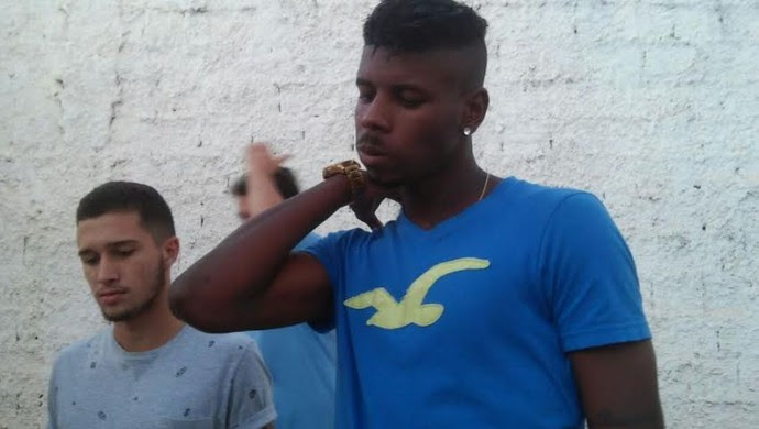 Caio Quiroga e Darlan fizeram exames nesta segunda (Foto: Everton Luiz/Arquivo pessoal)