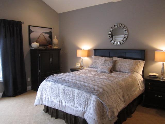Glam Master Bedroom! - Contemporary - Bedroom - toronto ...