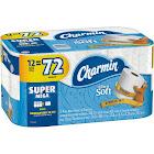 Charmin Ultra Soft Toilet Paper 12 Super Mega Roll