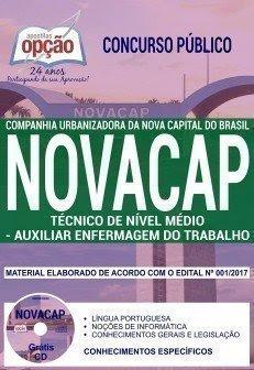 Apostila Novacap AUXILIAR ENFERMAGEM DO TRABALHO