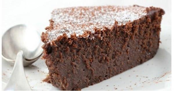 Recette gourmande et diététique : le gâteau au chocolat ...