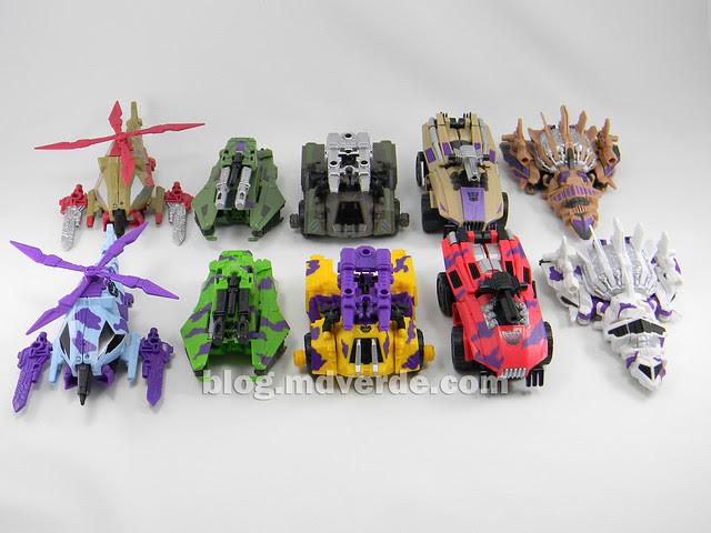 Transformers Bruticus G2 Fall of Cybertron - modo alterno Combaticons vs SDCC